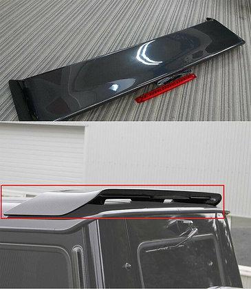 Carbon fiber rear spoiler for Gelendvagen.