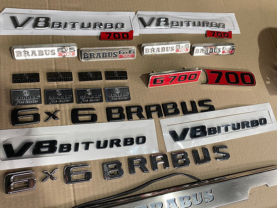 Nameplates for Gelandewagen