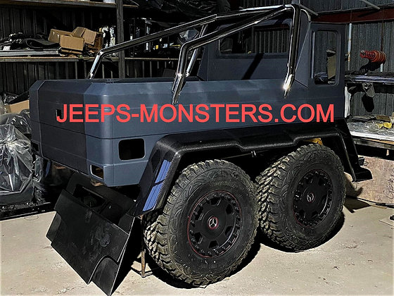 Body parts set for alteration in 6×6 for Mercedes G-class