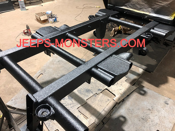 Rear part of the frame for Gelendewagen 6×6 build