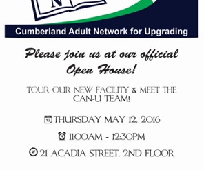 You're Invited to CAN-U's Open House!