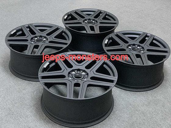 Wheels for Gelendvagen 4 × 4², exact copy of the original.