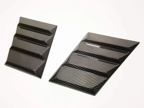 Brabus carbon fiber fenders instead of bends