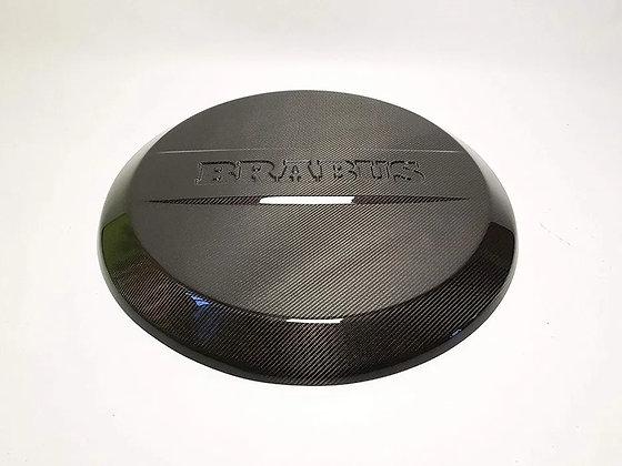 Brabus carbon spare wheel cover
