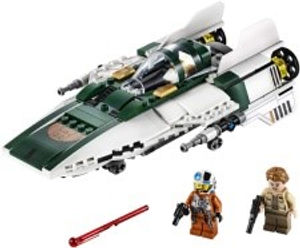 Lego Star Wars Resistence A wing Starfig