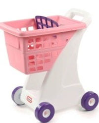 Little Tykes Pink Shopping Cart (toddler