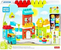 Mega Bloks Mainstreet Friends & Lego Bel