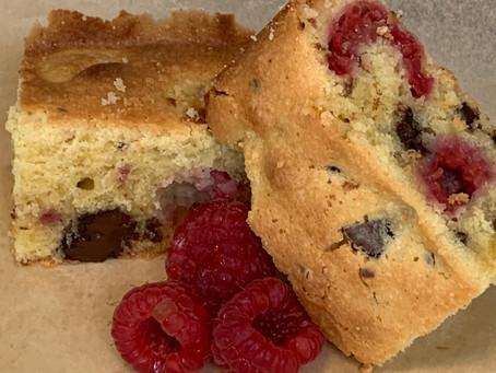 Raspberry and Almond Cake