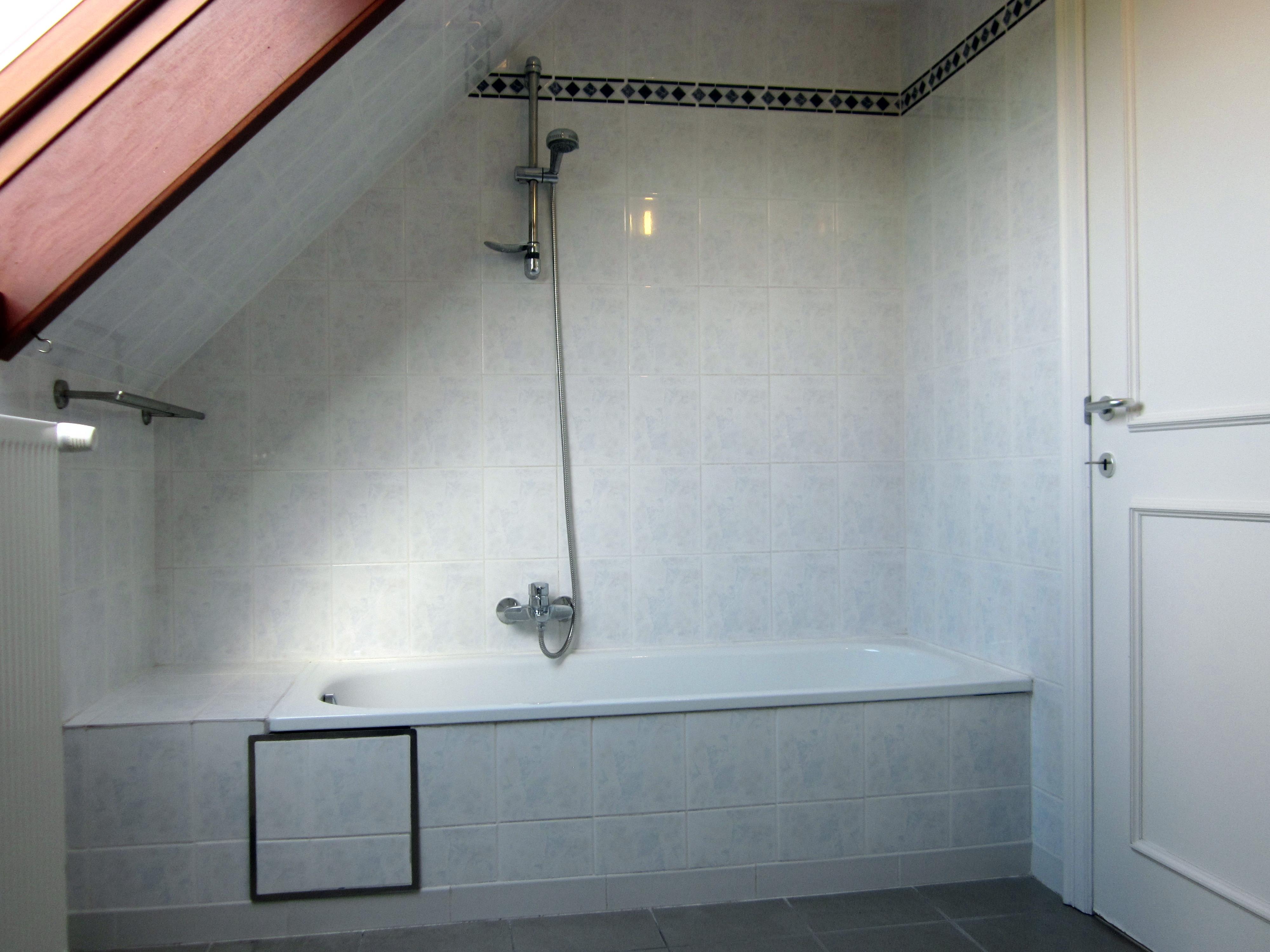 PRINSESTRAAT 1A - badkamer met ligbad en douche