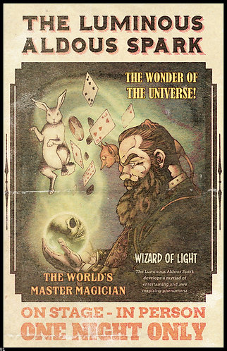 Aldous Spark Poster: The Luminous Aldous Spark