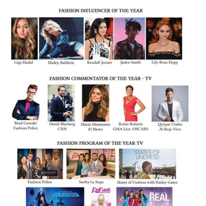 Fashion Commentator of the Year – TV Maria Menounos – E News  Fashion Program of the Year TV States of Undress with Hailey Gates