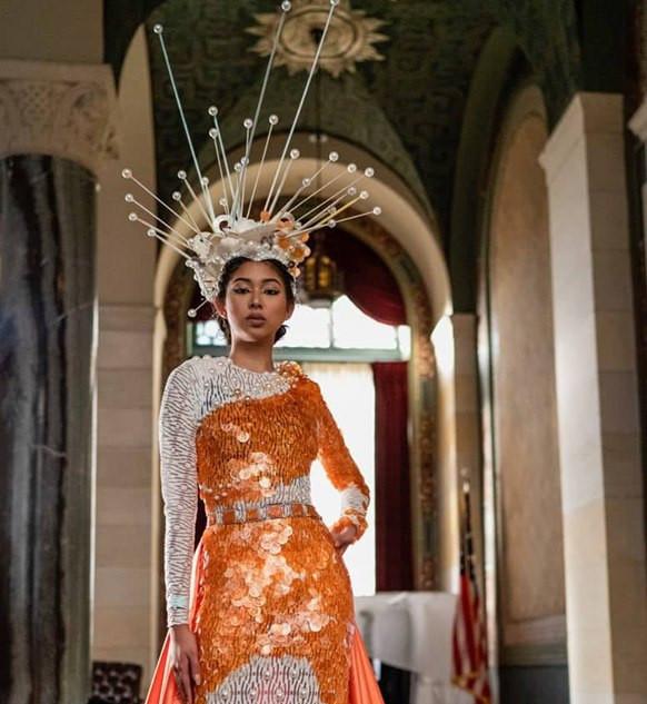 GREEK MYTHOLOGY INSPIRED 2019 Fashion Masterpiece by: Carl Andrada
