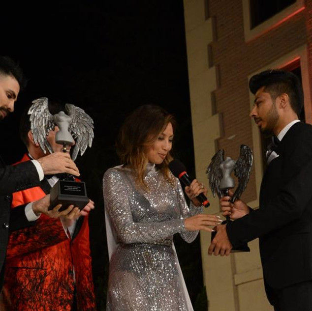 FASHION COMMENTATOR OF THE YEAR  (tie)  Jeannie Mai–Co-host of FOX's The Real Jomari Goyso — Co-host of Univision's Sal y Pimienta