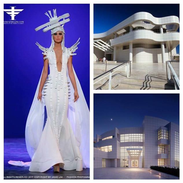 GETTY INSPIRED  2017 Fashion Masterpiece by:  Kika Custom Design