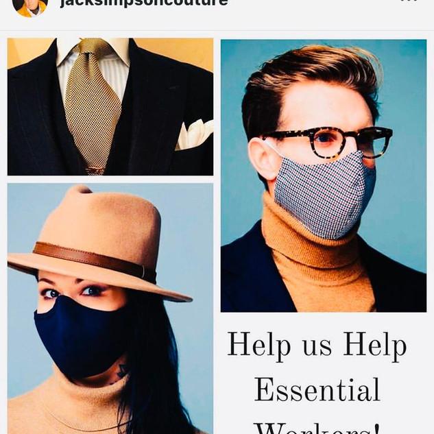 Designer: Jack Simpson Instagram: jacksimpsoncouture