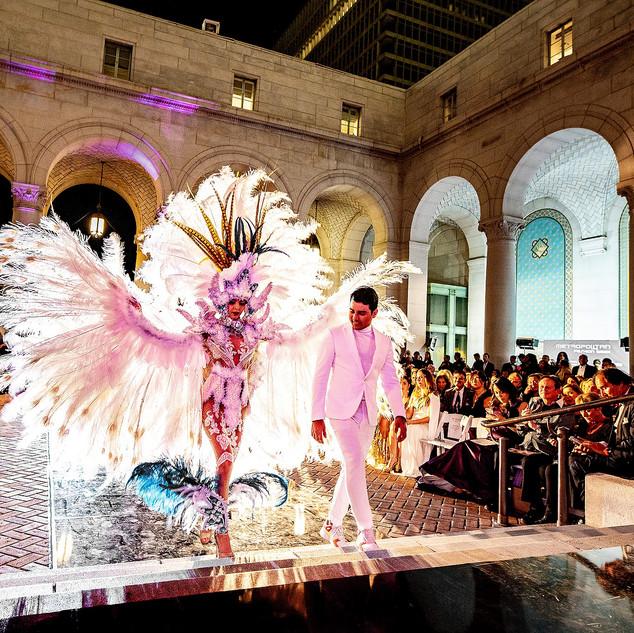 GREEK MYTHOLOGY INSPIRED 2019 Fashion Masterpiece by: Erick Bendana