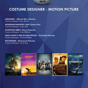 """ANNA MARY SCOTT ROBBINS - """"DOWNTON ABBEY""""  WINS """"OUTSTANDING COSTUME DESIGNER - MOTION PICTURES"""""""