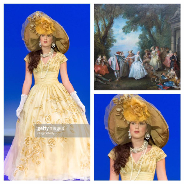 GETTY INSPIRED  2017 Fashion Masterpiece by: Rita Mezrahi