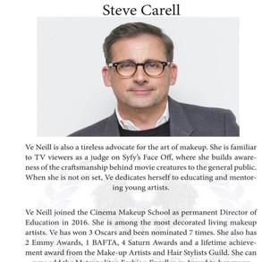 AWARD PRESENTER   Steve Carell Golden Globe winning actor