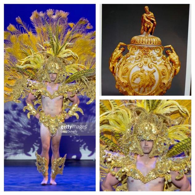 GETTY INSPIRED  2017 Fashion Masterpiece by: Erick Bendana