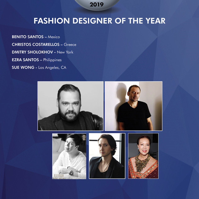 FASHION DESIGNER OF THE YEAR SUE WONG & DMITRY SHOLOKHOV