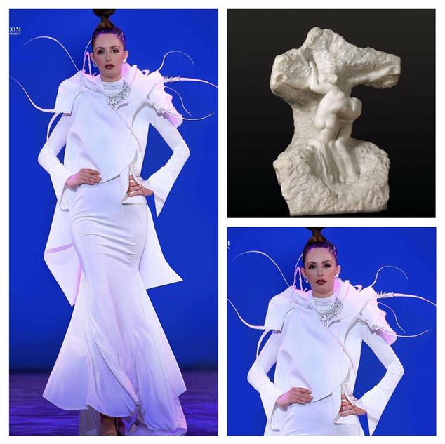 GETTY INSPIRED  2017 Fashion Masterpiece by: Xavier Othon