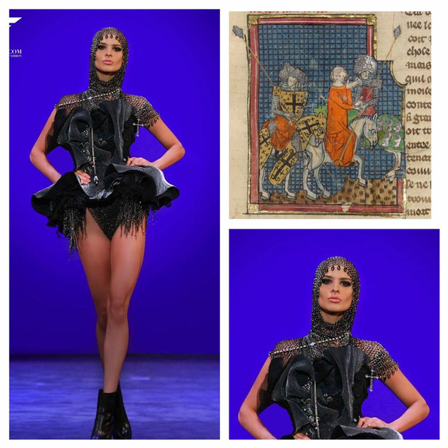 GETTY INSPIRED  2017 Fashion Masterpiece by: Yukimuli