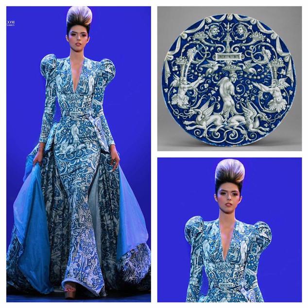GETTY INSPIRED  2017 Fashion Masterpiece by: Ercik Bendana