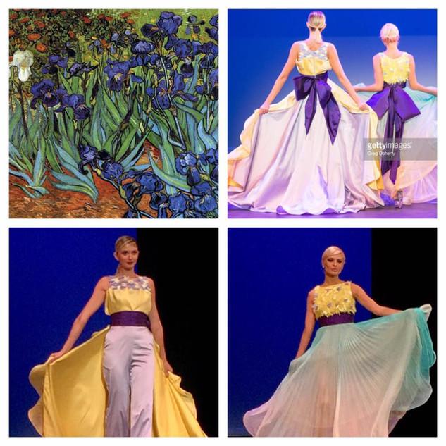 GETTY INSPIRED  2017 Fashion Masterpiece by: Benito Santos