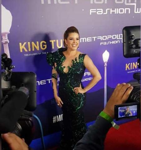 AWARD PRESENTER  Alicia Machado  Actress, Miss Universe 1996