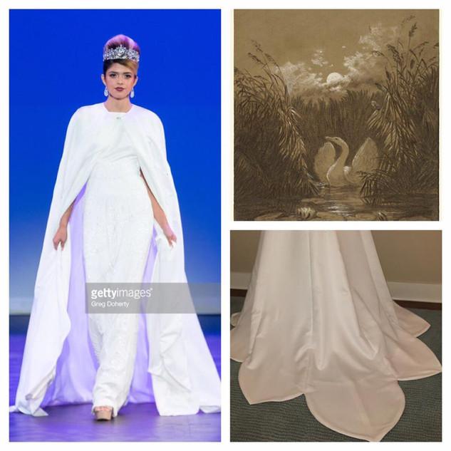 GETTY INSPIRED  2017 Fashion Masterpiece by: Julie Danforth