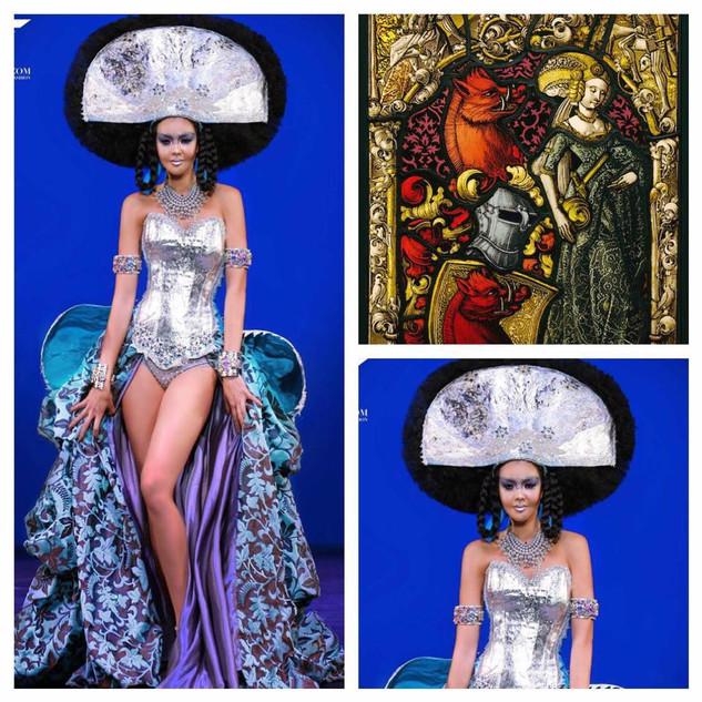 GETTY INSPIRED  2017 Fashion Masterpiece by: Ricardo Soltero