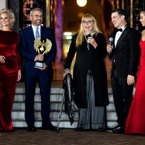 Steve Carell - Golden Globe winning actor Ve Neill - 3 Time Oscar Award winning Makeup Artist Eduardo Khawam Metropolitan FashionWeek President