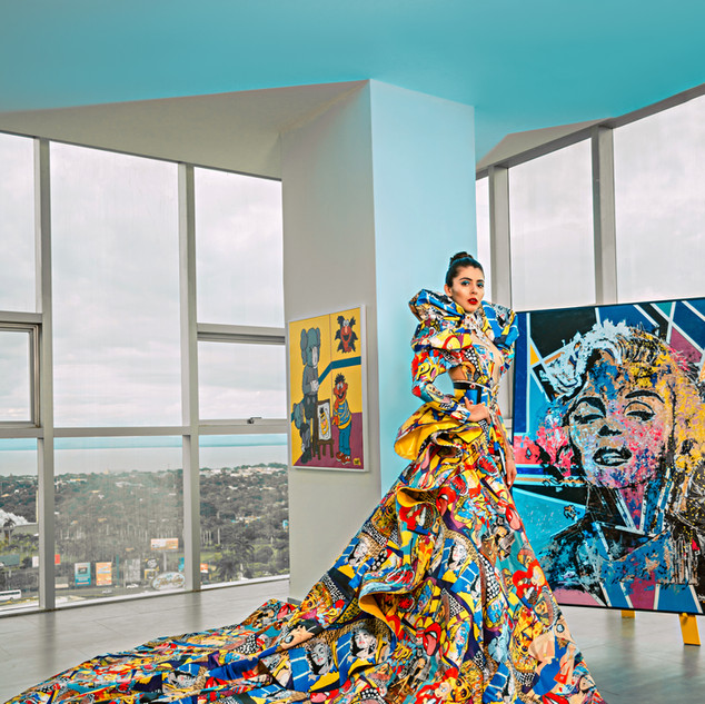 Diosa del POP ART
