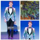 GETTY INSPIRED  2017 Fashion Masterpiece by: Fernanda Pinheiro of Giovanni Testi
