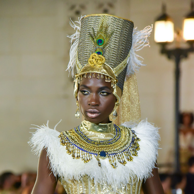 KING TUT INSPIRED 2018 Fashion Masterpiece by: Elle Mese