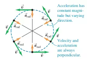 Direction of velocity & acceleration