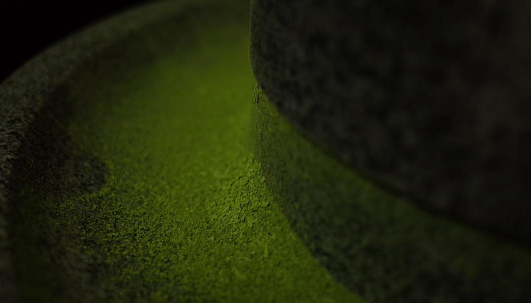 石臼挽き抹茶
