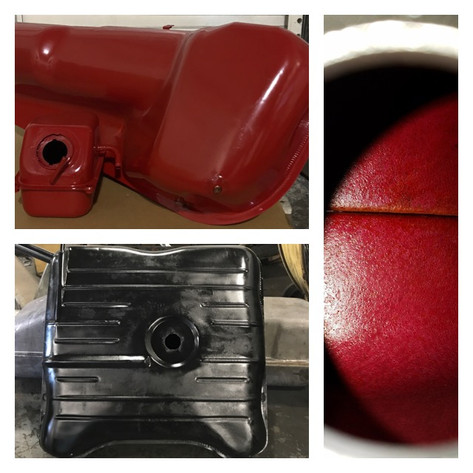 Gas Tanks: Whether it is custom powder coat or standard tank repair, we do it. All tank repairs are lined and sealed.