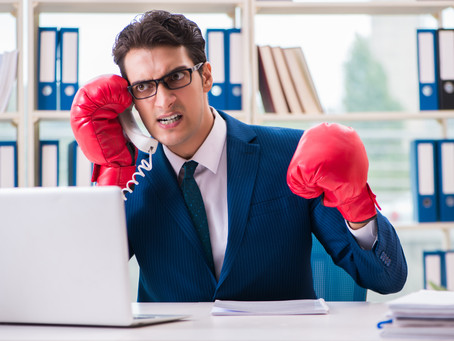 Prospecting, just like Boxing, is a contact sport.