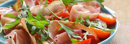 Salade au jambon