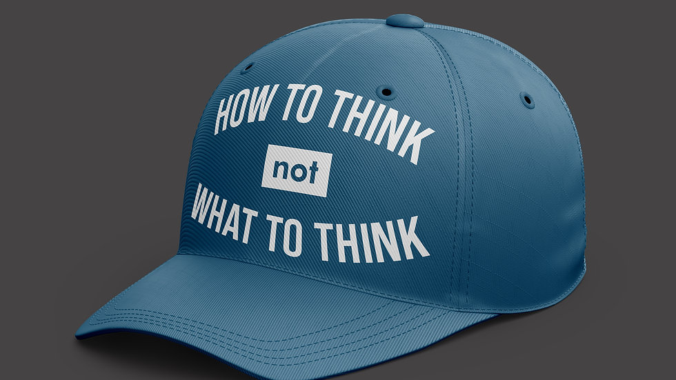 Topi How to Think not Wh at you think