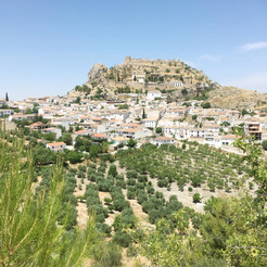 Moclin town Andalucia