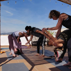 Teachers workshop on roof - prasarita C