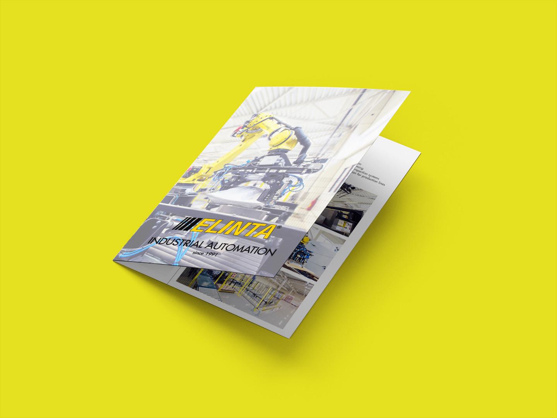Elinta two-fold A4