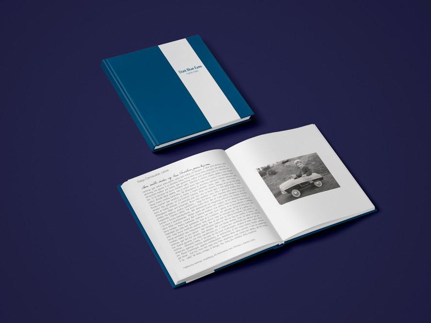 Dark Blue Eyes - Book