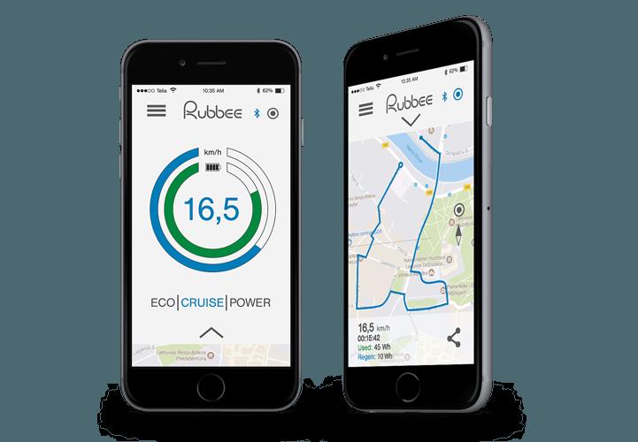Rubbee X app