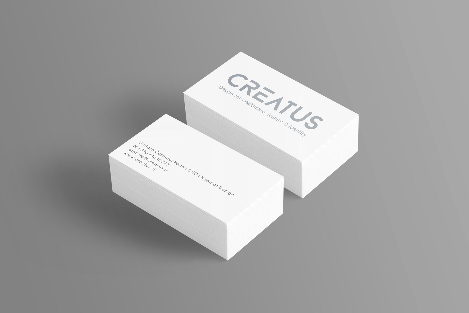 Creatus business card