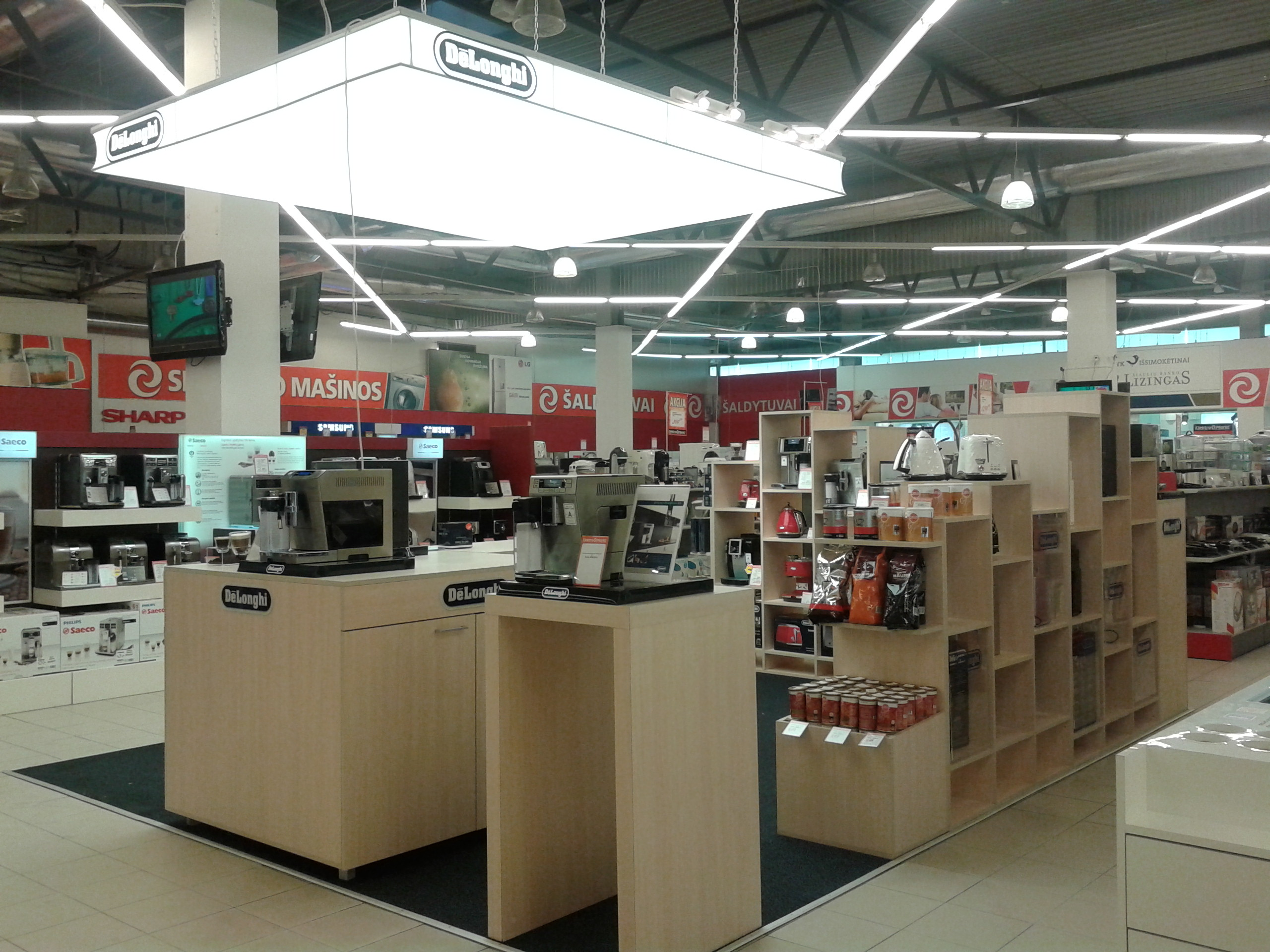 Delonghi Retail space