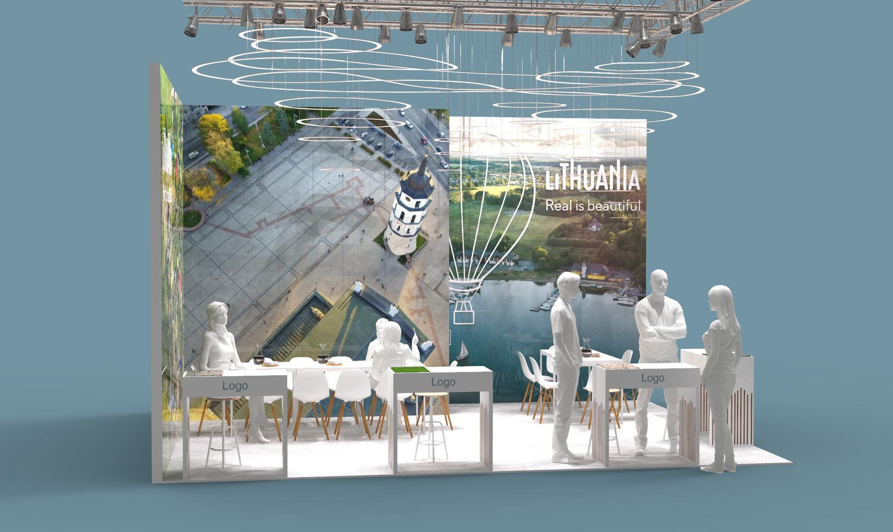Tourism trade fair stand